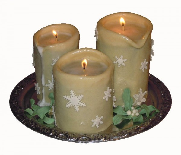 Images Of Cake With Candles : How to Make a 3D Candle Cake - CakeCentral.com