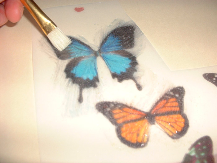 How To Make Realistic Edible Butterflies For Your Cake