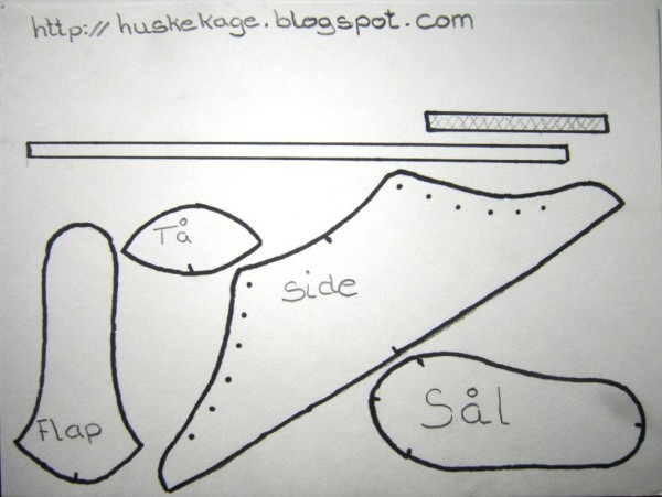 how to make a fondant converse sneaker shoe template