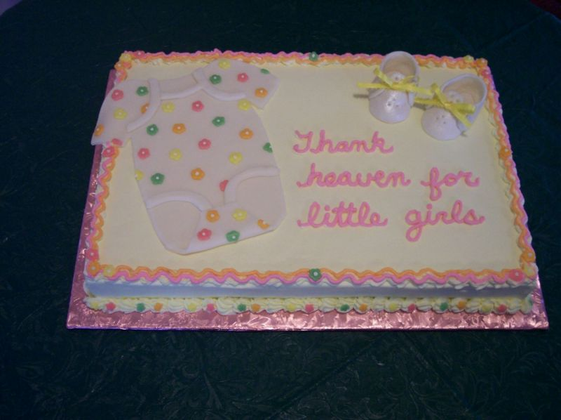 Baby Shower Cake Inscriptions