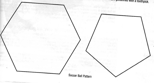printable football pattern template .