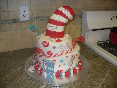 cat in hat images. cat in hat cake.