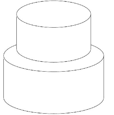 Tiered Cake Design Template : Tiered Cake Sketch Templates
