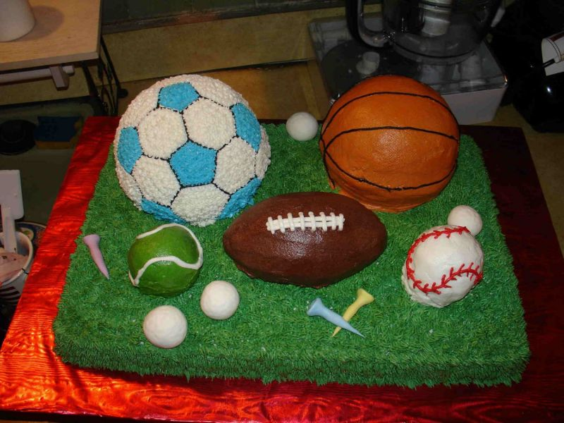Sports Cakes and Party Birthday Cakes