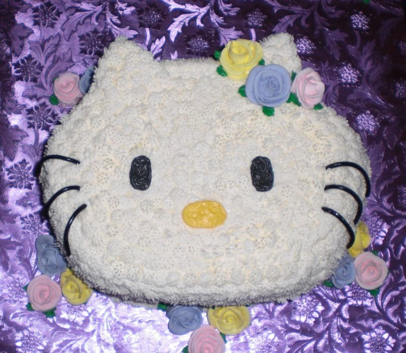 Hello Kitty Baby Shower Cake Uploaded By: cakemommy