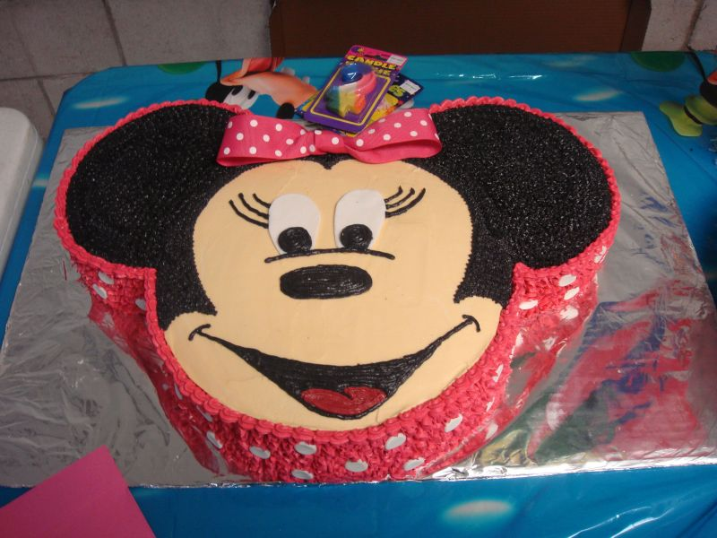 minnie mouse cake. Minnie Mouse Birthday Cake