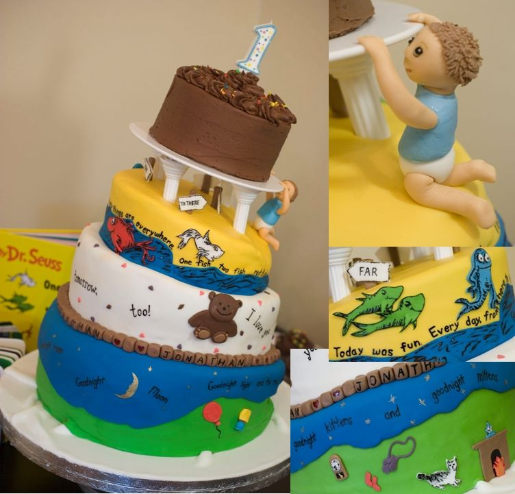 first birthday cake designs