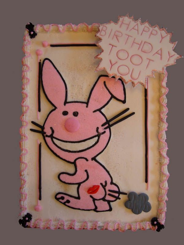 Happy Bunny Birthday Cakes. Happy Bunny birthday cake