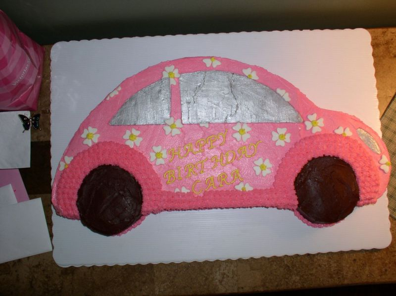VW Beetle 16th Birthday Party Cake Uploaded By: dianab