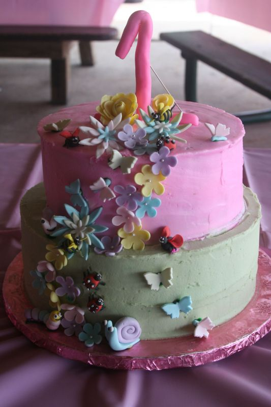 cakes pictures for birthday. pink 1st irthday cake