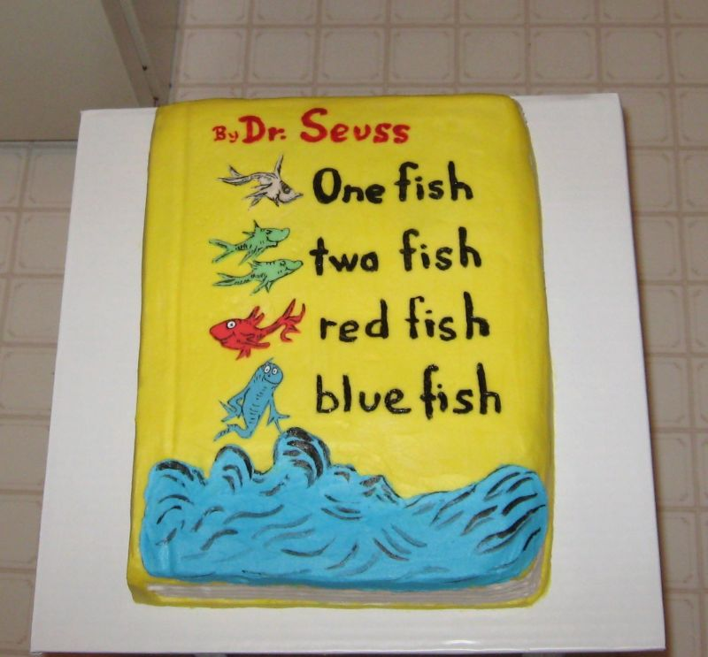 Birthday and Party Cakes Dr Seuss Birthday Cakes 2010
