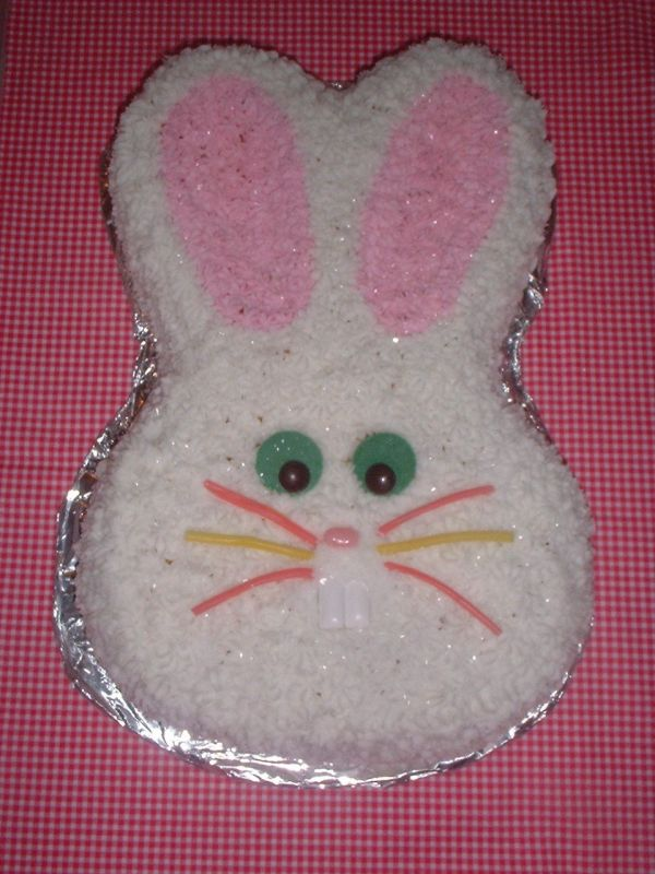 easter bunny cake images. Easter Bunny cake I made for