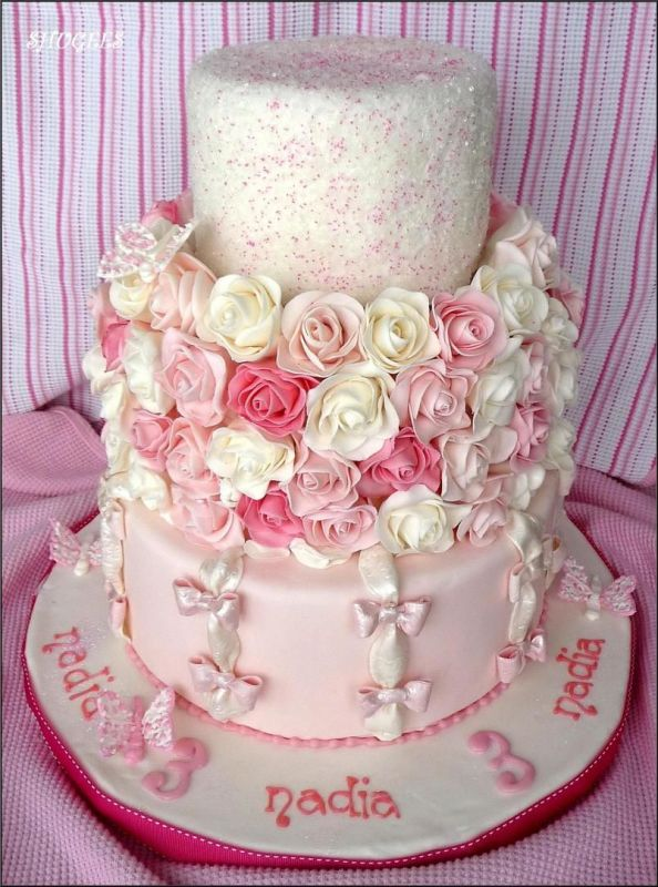 Girly Frilly And Romantic Cakecentral Com