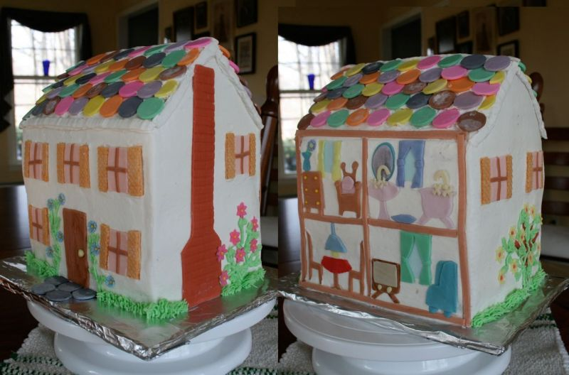 Dollhouses Made of Cakes