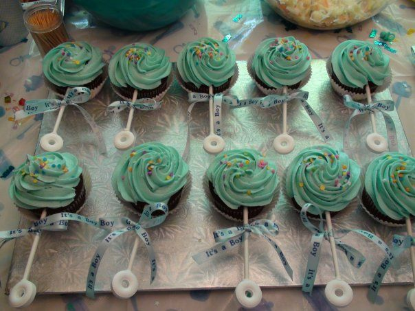 baby shower rattle cupcakes Quotes