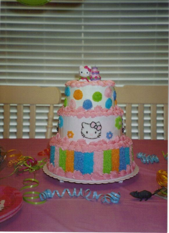 images of hello kitty cakes. Hello Kitty