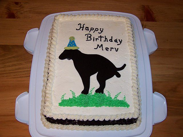 Funny Birthday Joke cake. Uploaded By: CocoaBlondie