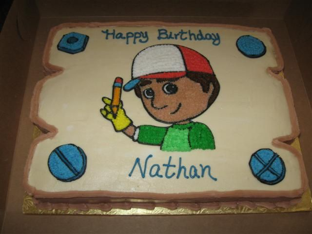 Handy Manny Cake Uploaded By: MariaLovesCakes