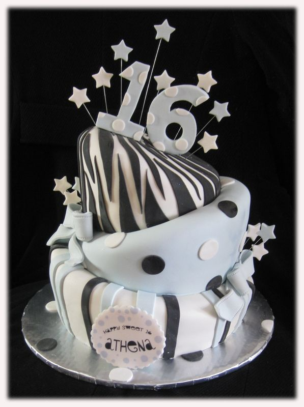 Sweet 16 Birthday Cakes Image