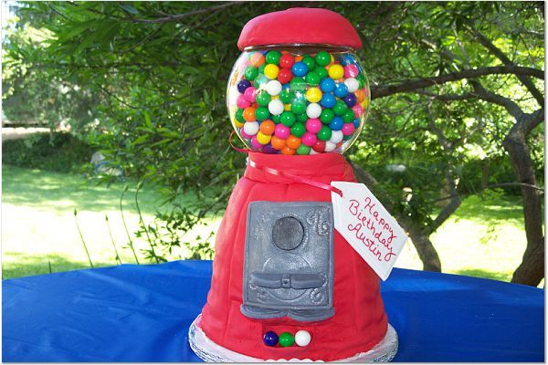 gumball machine cake. Uploaded By: patrice2007