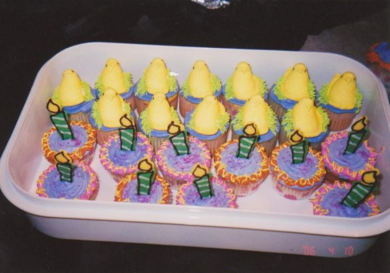 easter cakes for kids. easter cupcakes for kids.