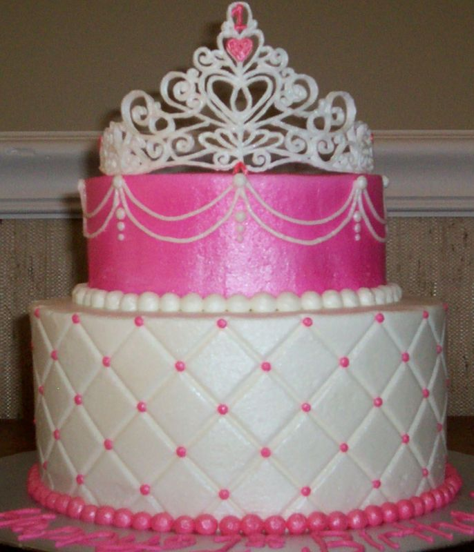 Princess Crown Cake Pictures : princess tiara cake - group picture, image by tag ...
