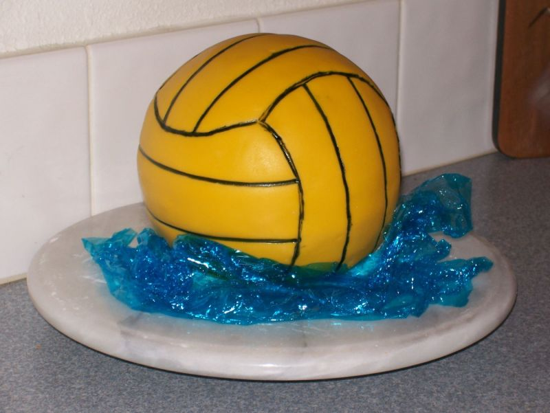 Water Polo Ball Cake Uploaded By: tripleE