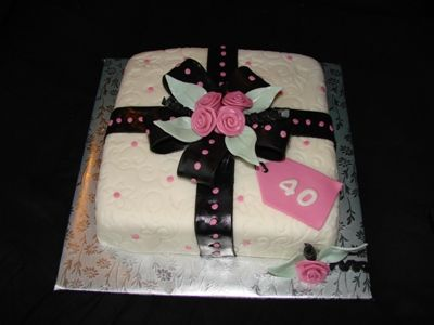 birthday cake pink and black. Cake Gallery | Birthday Cakes