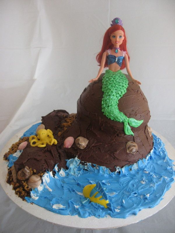 The Little Mermaid Uploaded By: lpino. This cake was for my niece who is