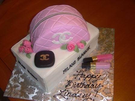 Channel Cosmetics by cakesbyallison on Cake Central