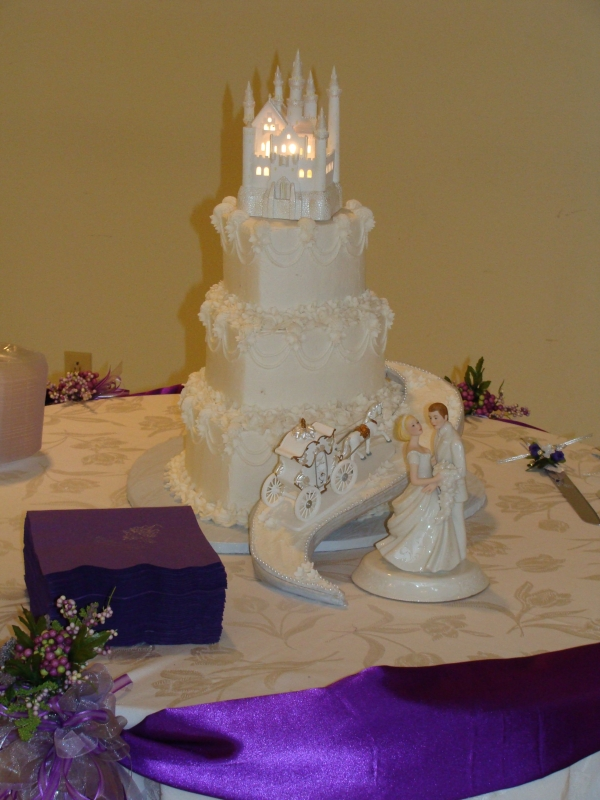 Fairytale Wedding Cake By gmcakes 3 tier heart cake in 6 9 12 sizes