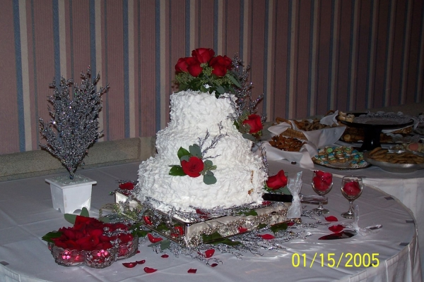 snow theme wedding cake By sincerely winter theme snow ice