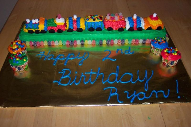 Train Birthday Cakes For Kids. Cake Gallery | Birthday Cakes