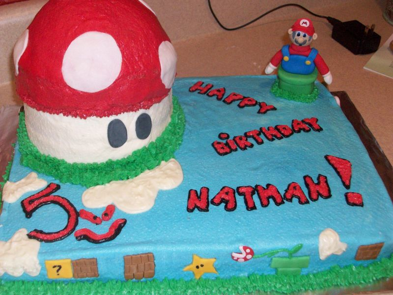 Mario Birthday Cake Mario Birthday Cake Ideas 2011 2011 Mario Birthday Cake Kit Mario ...