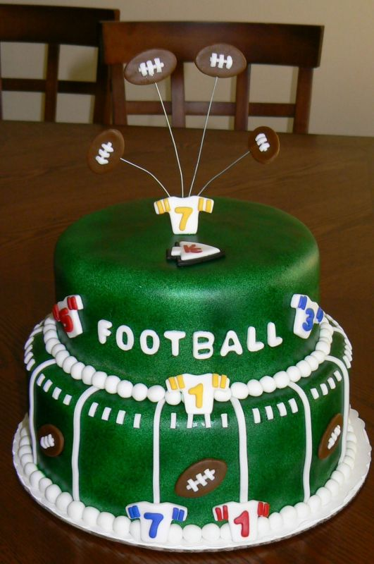 Luther Vandross Football Cake Designs