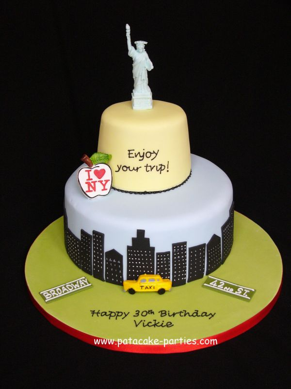 New York Cake Uploaded By: Relznik. It's my friend's 30th birthday and her