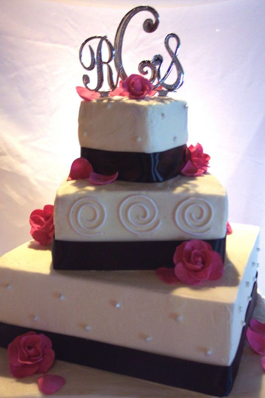 pink white and black wedding cakes maercon hairstyle pink black and white wedding cakes 18598