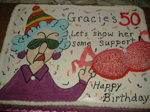 50th Birthday Cake Ideas you can use to make his or her birthday a memorable