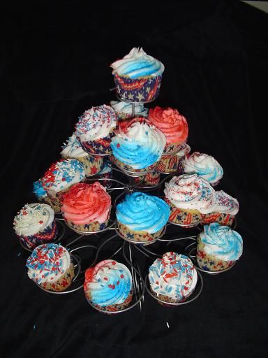 fourth of july cupcakes. 4th of July Cupcakes