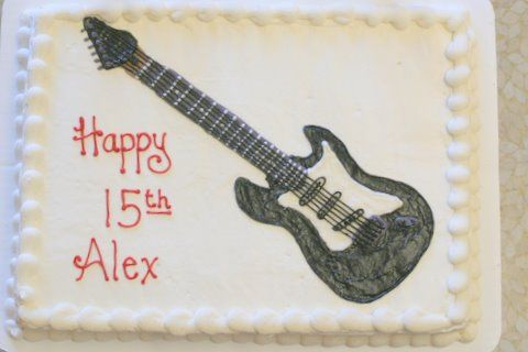 Happy Birthday Alex Uploaded By: robinscakes. For a 15-year old who plays