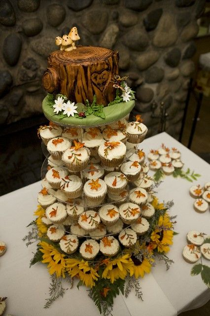 Stump Tower by Cakes by Jamie