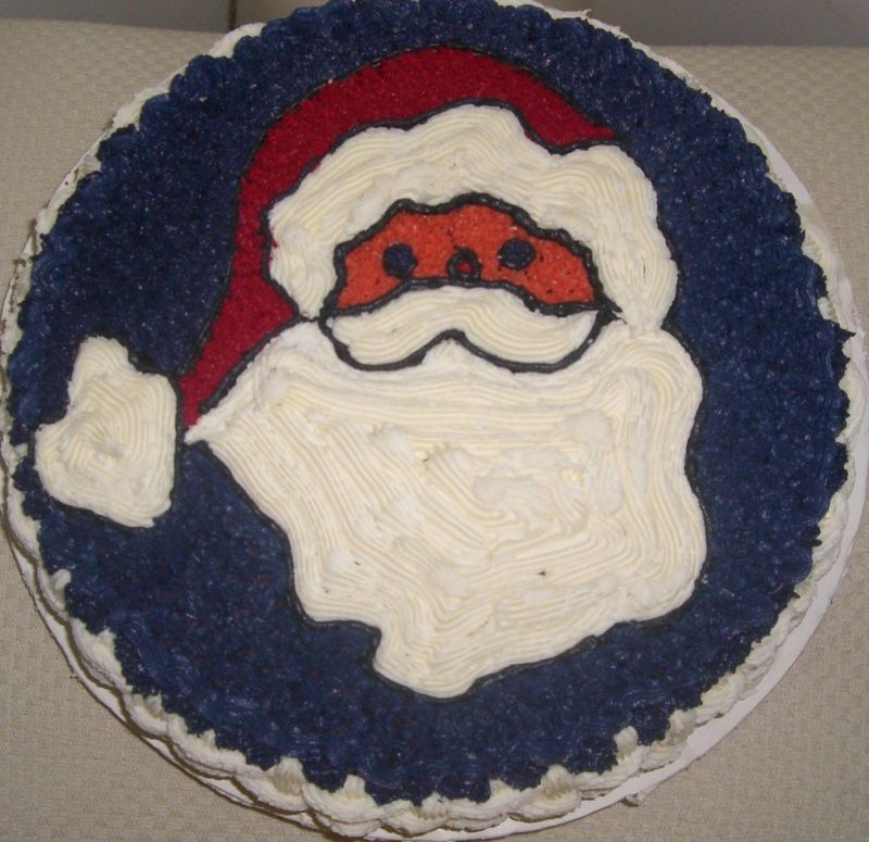 how to make a santa claus cake for kids