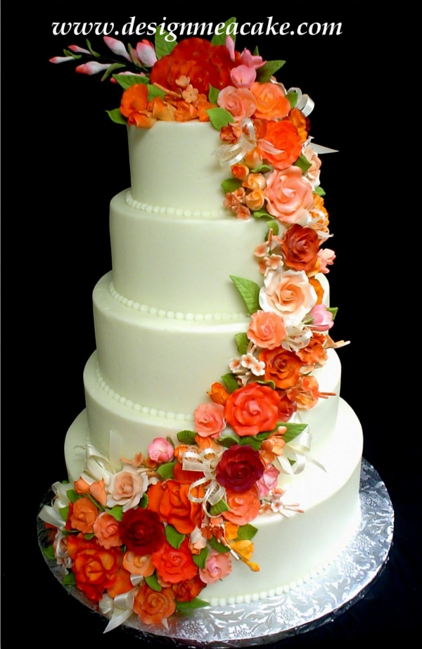 Orange Wedding Cakes - Reception - Project Wedding Forums