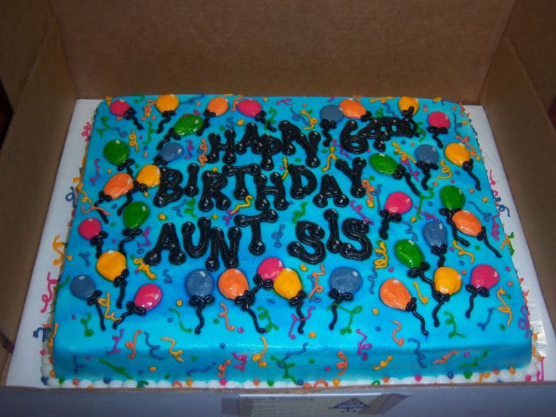 Pictures Of Birthday Cakes And Balloons. Cake Gallery | Birthday Cakes