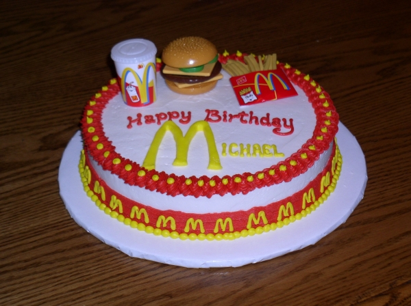 Birthday Cake For Ronald : Ronald mcdonald, Mcdonald s and Cakes on Pinterest