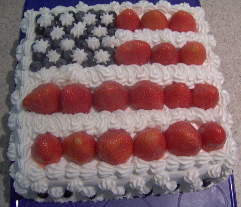 pictures of fourth of july cakes. 4th of July Cake