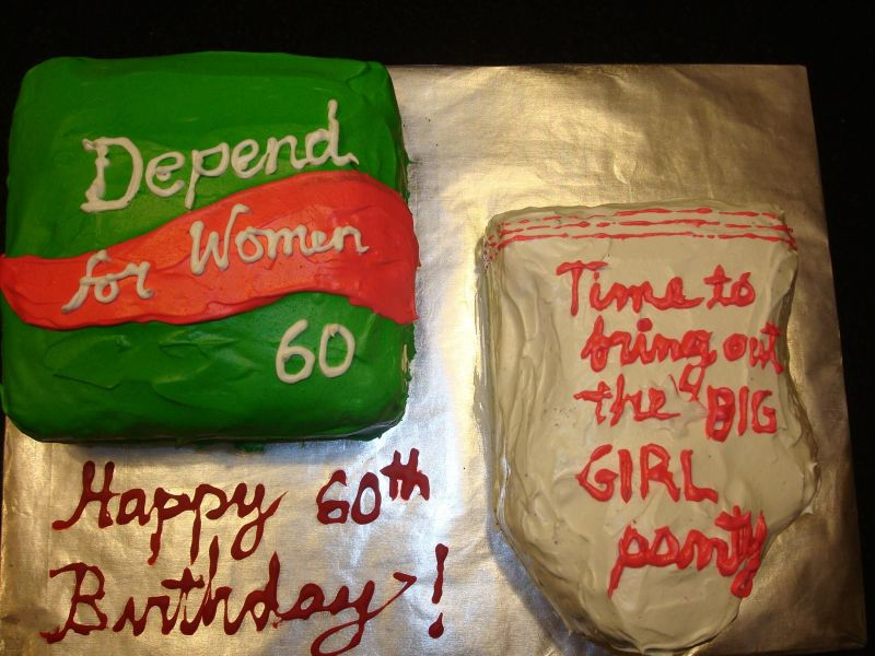 60th Birthday Cake Ideas For