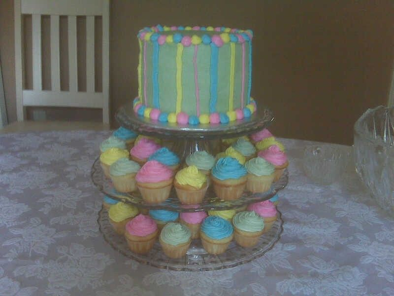 baby shower cupcakes. Gender Neutral Baby Shower