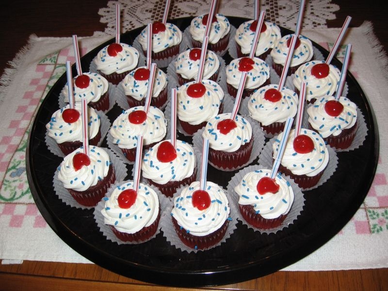 fourth of july cakes or cupcakes. Fourth of July Soda Cupcakes