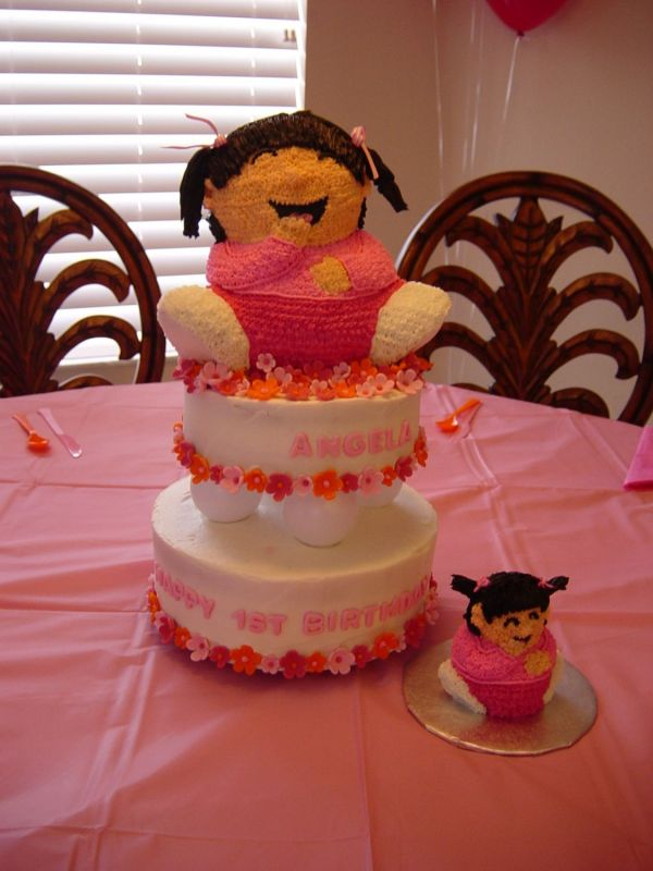cakes for girls 1st birthday. Little Girls 1st Birthday